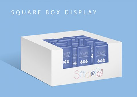 Sqaure Box Display